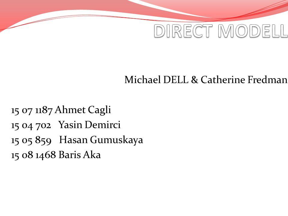 Michael DELL & Catherine Fredman 15 07 1187 Ahmet Cagli 15 04 702 Yasin Demirci 15 05 859 Hasan Gumuskaya 15 08 1468 Baris Aka