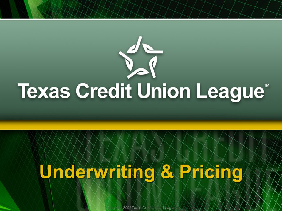 Copyright 2008 Texas Credit Union League And Away We Go…….