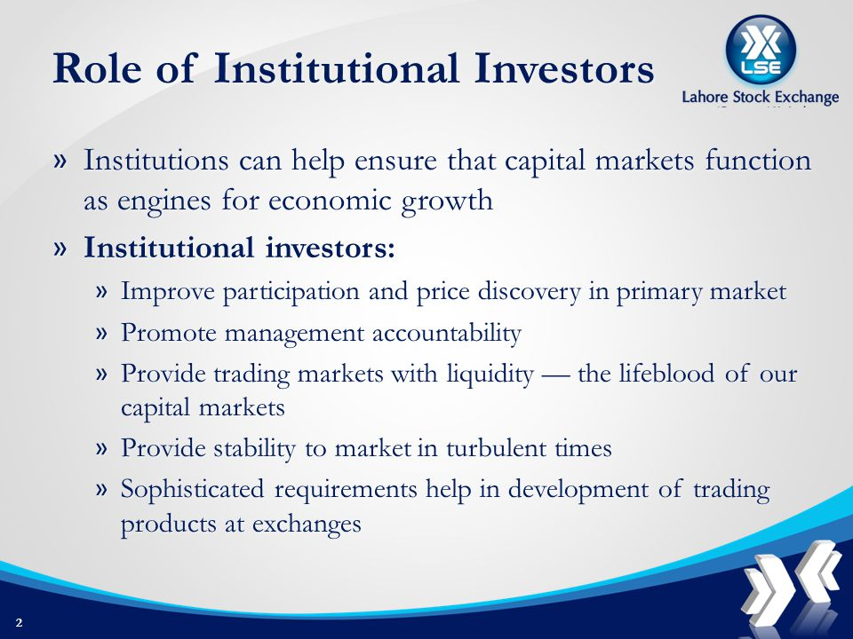 Infleunce of Institutional Investors » The proportion of U.S.