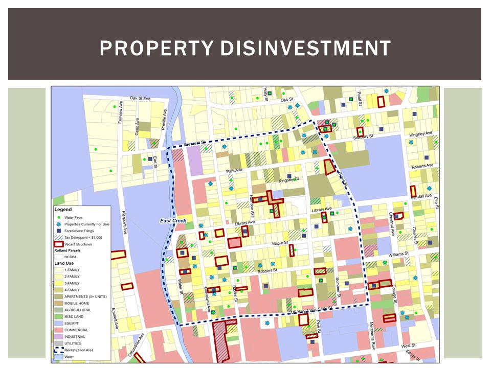 PROPERTY DISINVESTMENT