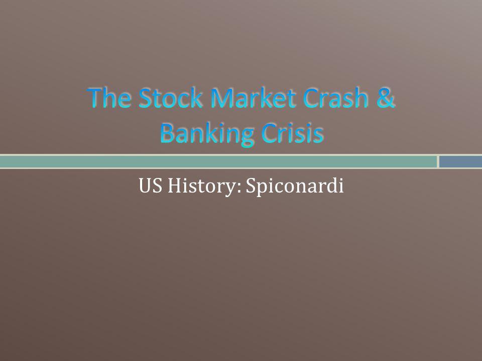 US History: Spiconardi