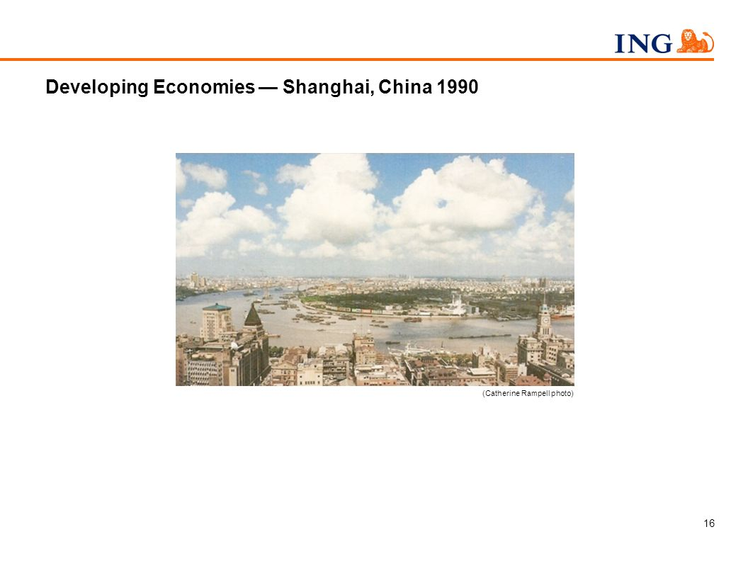 16 Developing Economies Shanghai, China 1990 (Catherine Rampell photo)