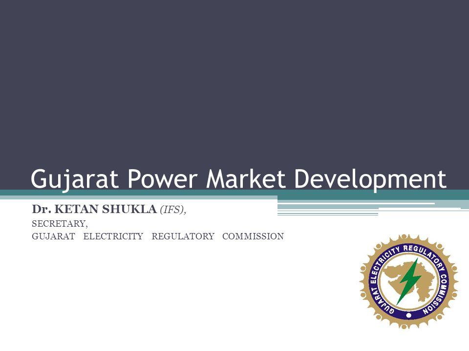 Gujarat Power Market Development Dr.