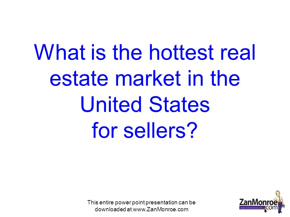 This entire power point presentation can be downloaded at www.ZanMonroe.com Phoenix Andrew Monaghan The Monaghan Group Keller Williams Reaty