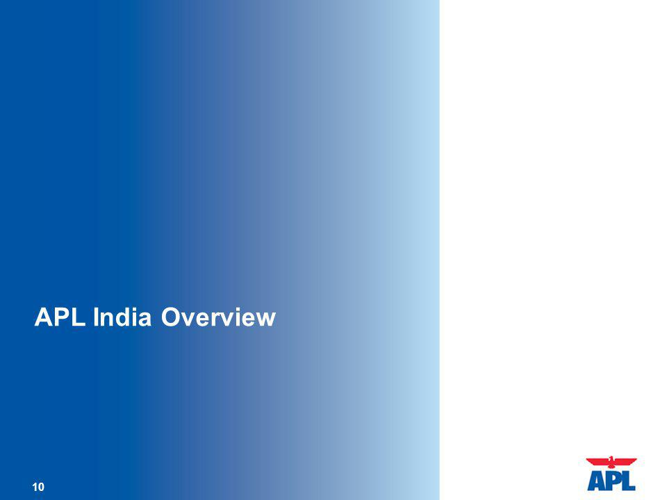 10 APL India Overview 10