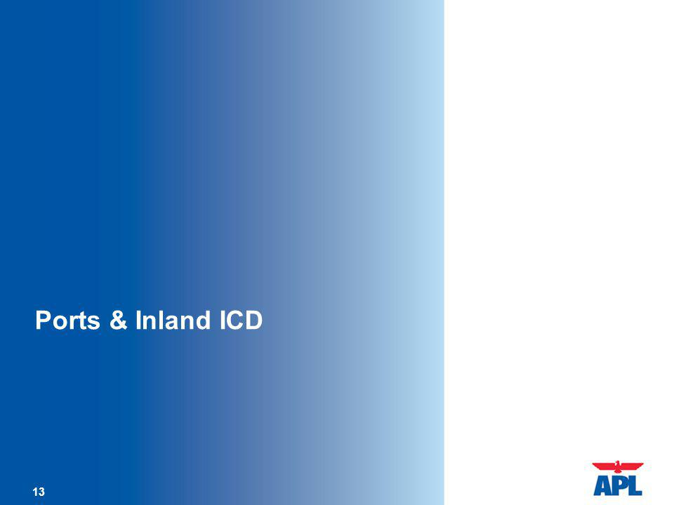 13 Ports & Inland ICD 13