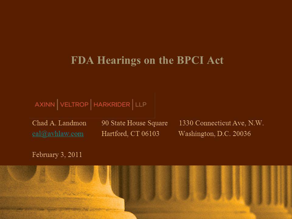 AXINN, VELTROP & HARKRIDER LLP © 2011 | www.avhlaw.com Clinical Trials- Where to Abbreviate.