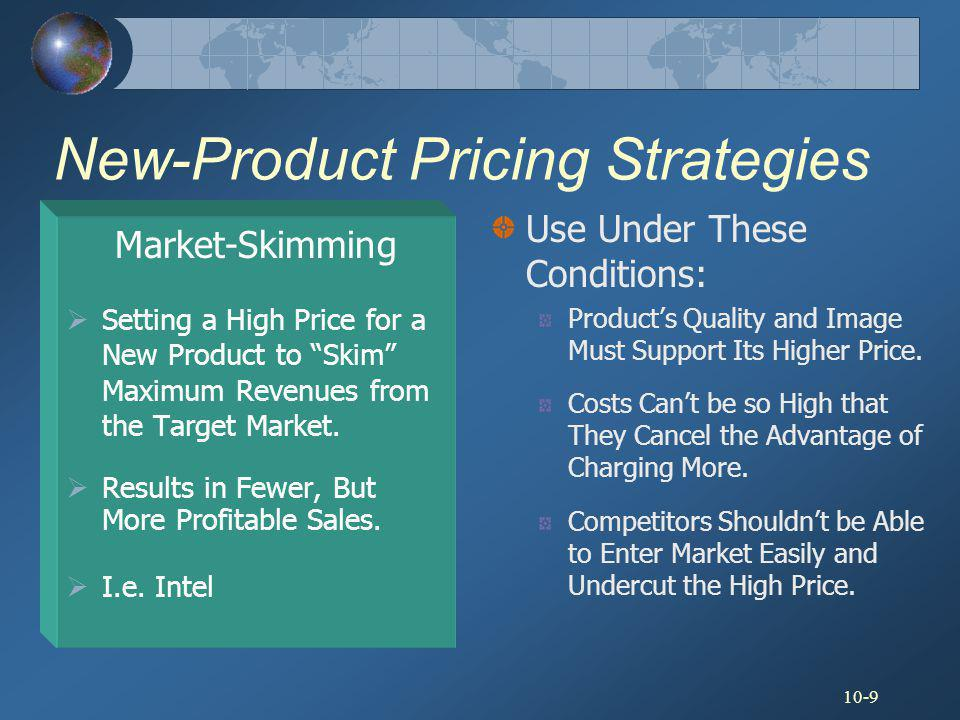 10-20 Public Policy Issues in Pricing