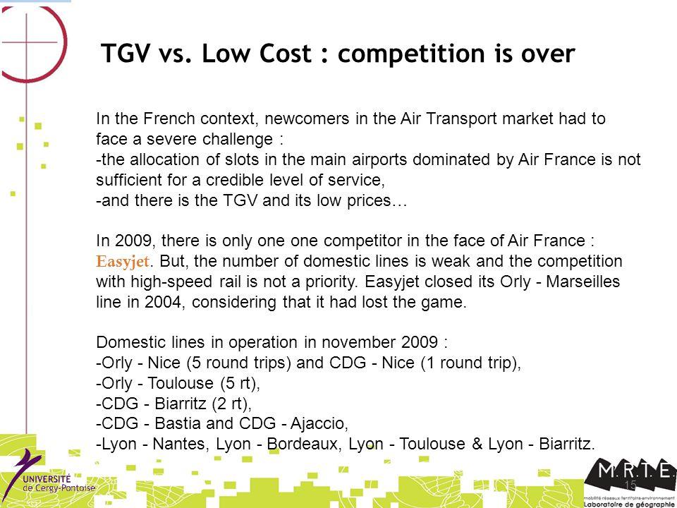 15 TGV vs.