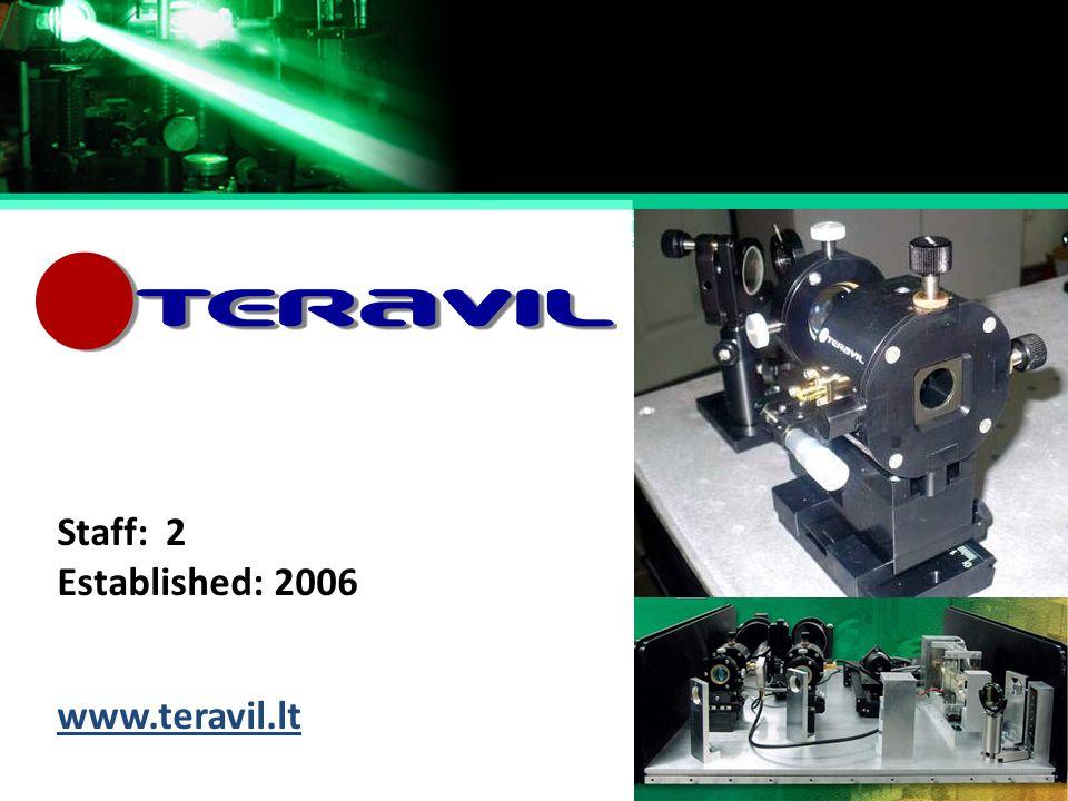 Established: Staff: 2006 2 www.teravil.lt