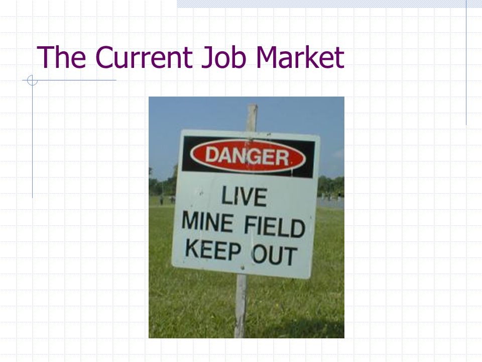 The Current Job Market