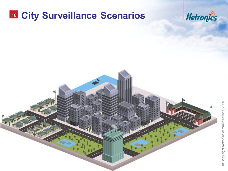 18 City Surveillance Scenarios