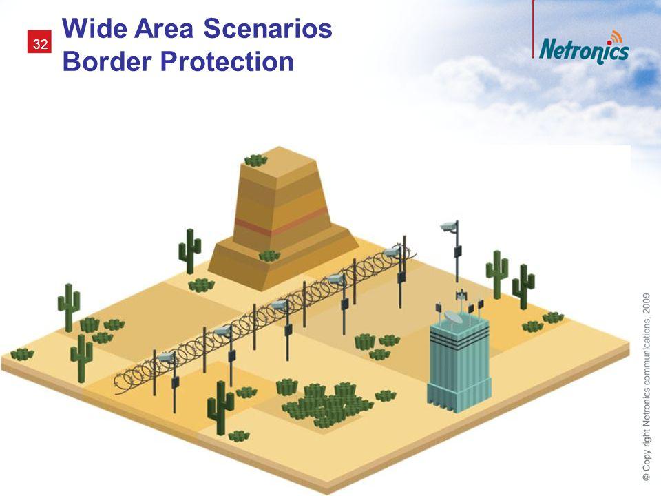 32 Wide Area Scenarios Border Protection
