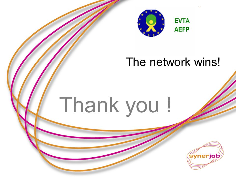 Thank you ! The network wins!