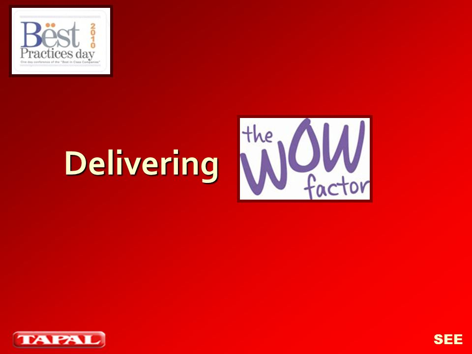 Delivering SEE