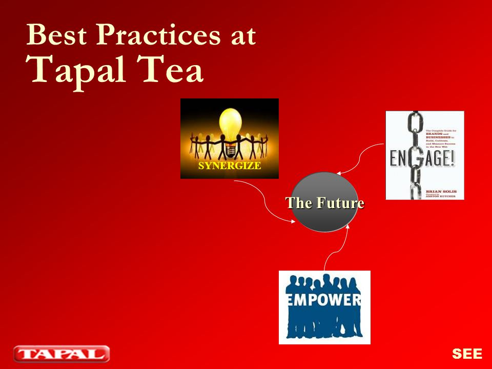 Best Practices at Tapal Tea The Future SYNERGIZE SEE