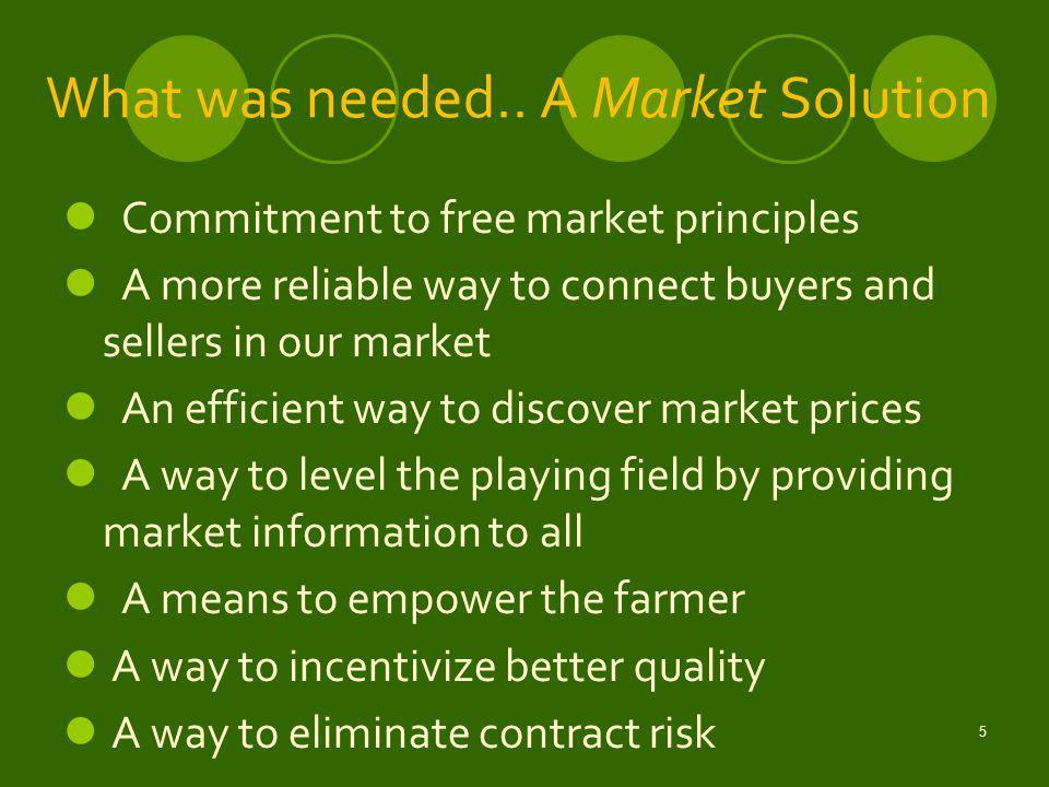 6 The ECX Solution