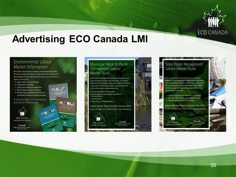 Advertising ECO Canada LMI 25
