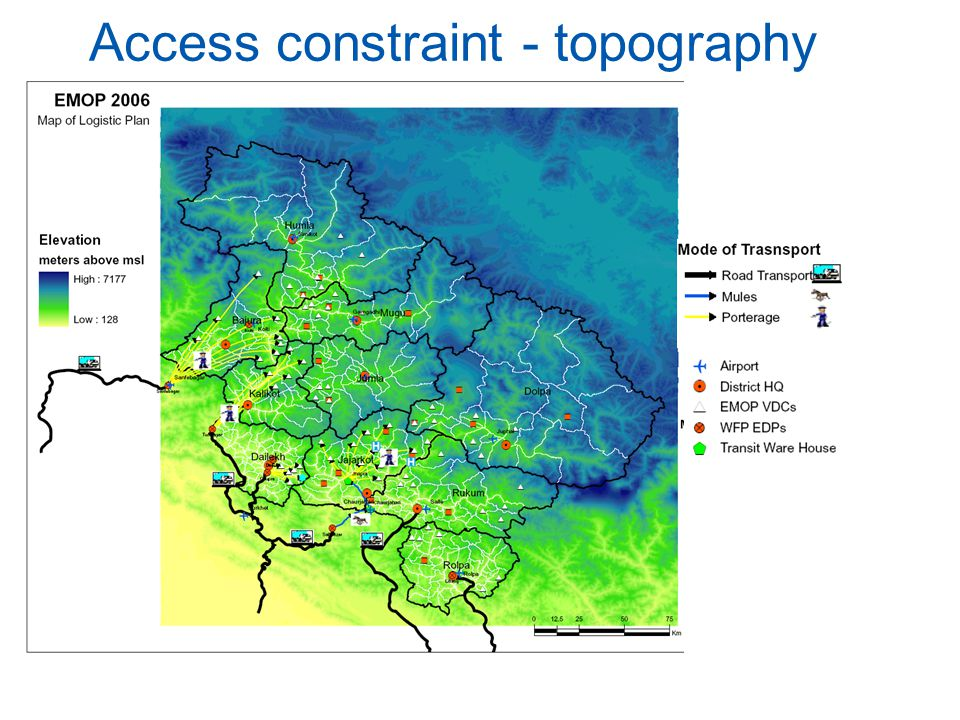 14 Access constraint - topography