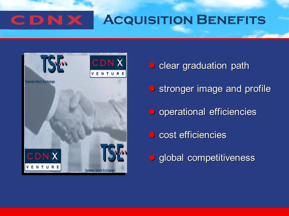 Acquisition Benefits clear graduation path stronger image and profile operational efficiencies cost efficiencies global competitiveness clear graduation path stronger image and profile operational efficiencies cost efficiencies global competitiveness