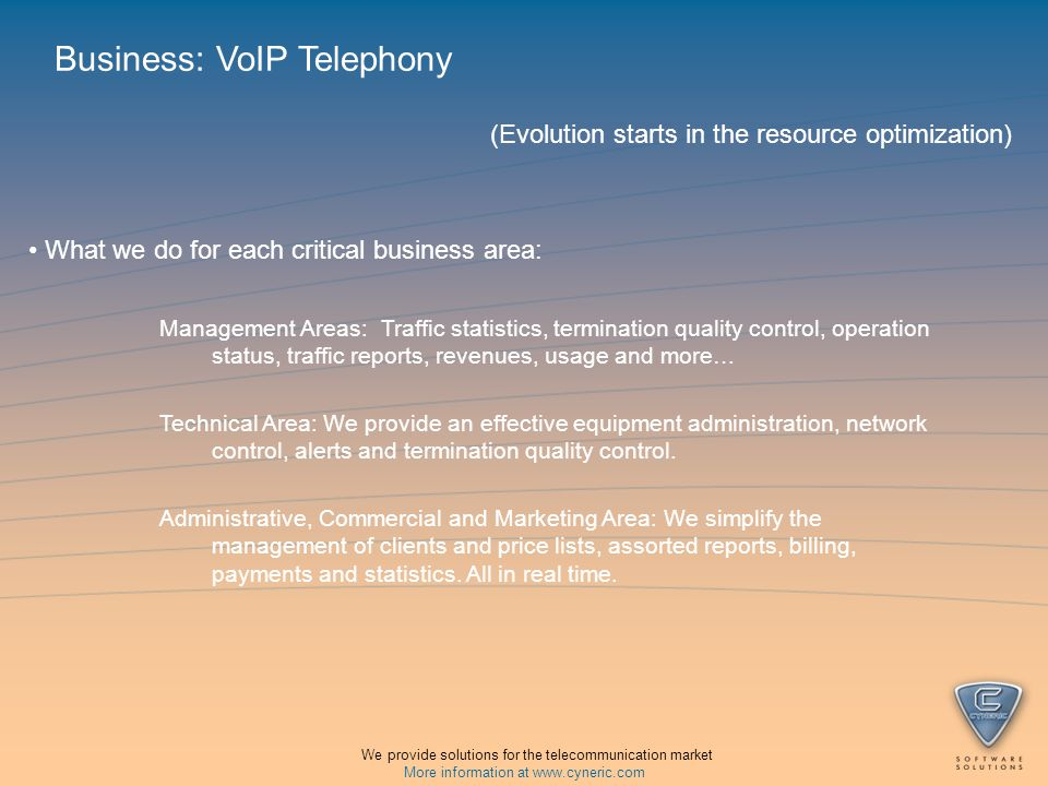 Our platform Objectives: Simplify and improve the technical, commercial and human resources administration.