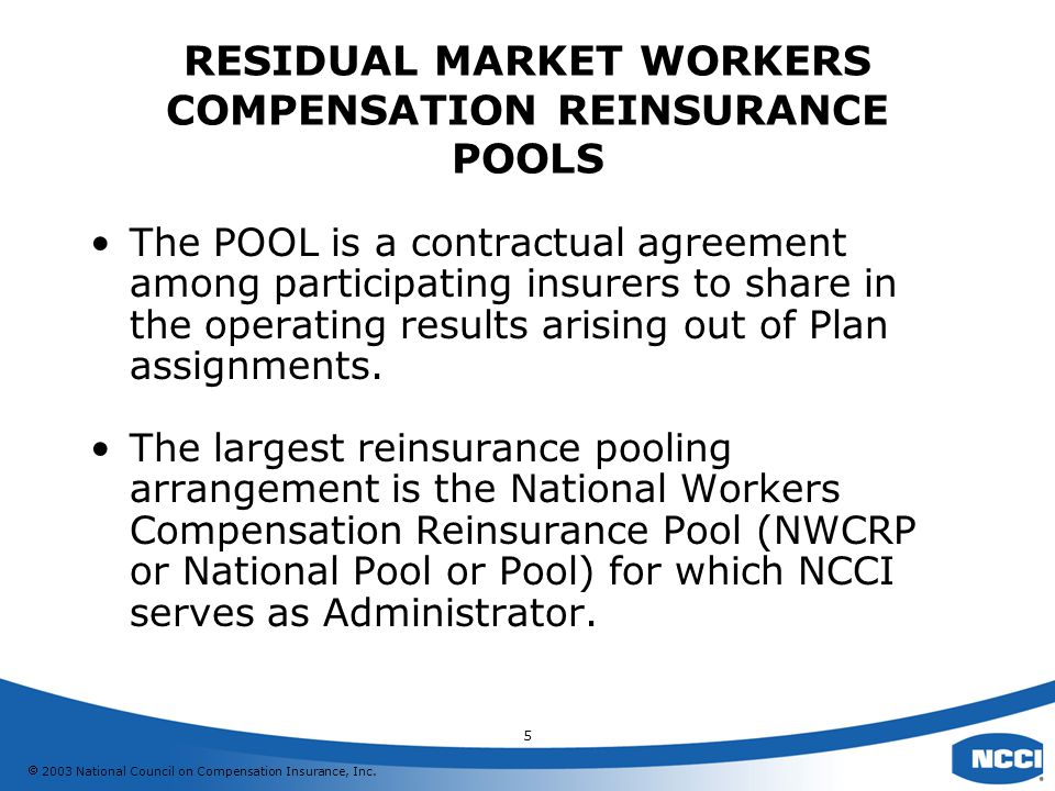 2003 National Council on Compensation Insurance, Inc.