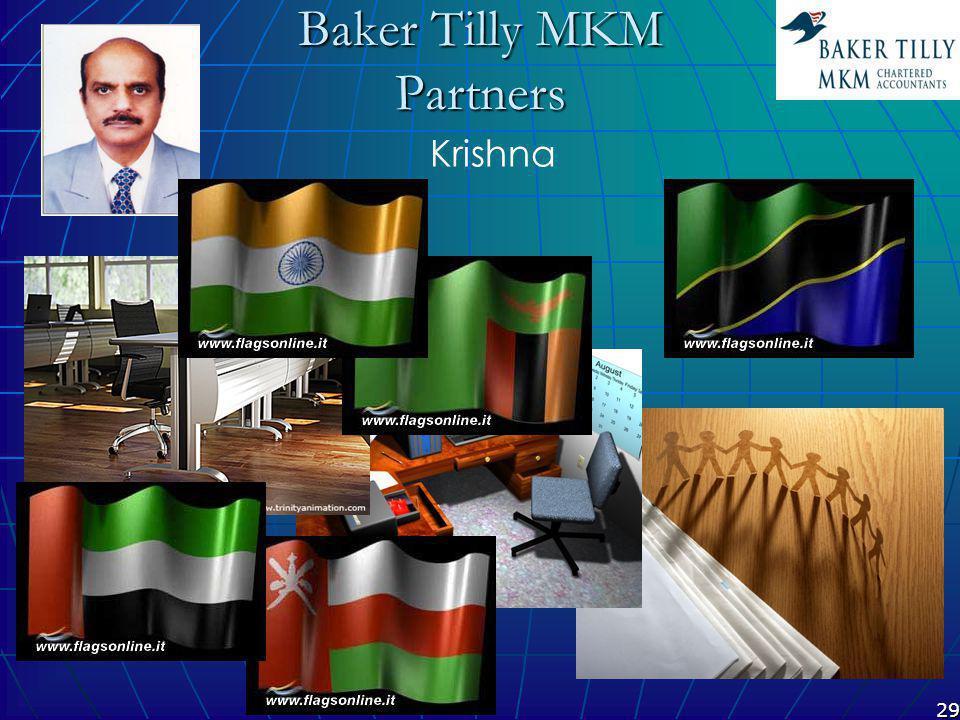 29 Baker Tilly MKM Partners Krishna