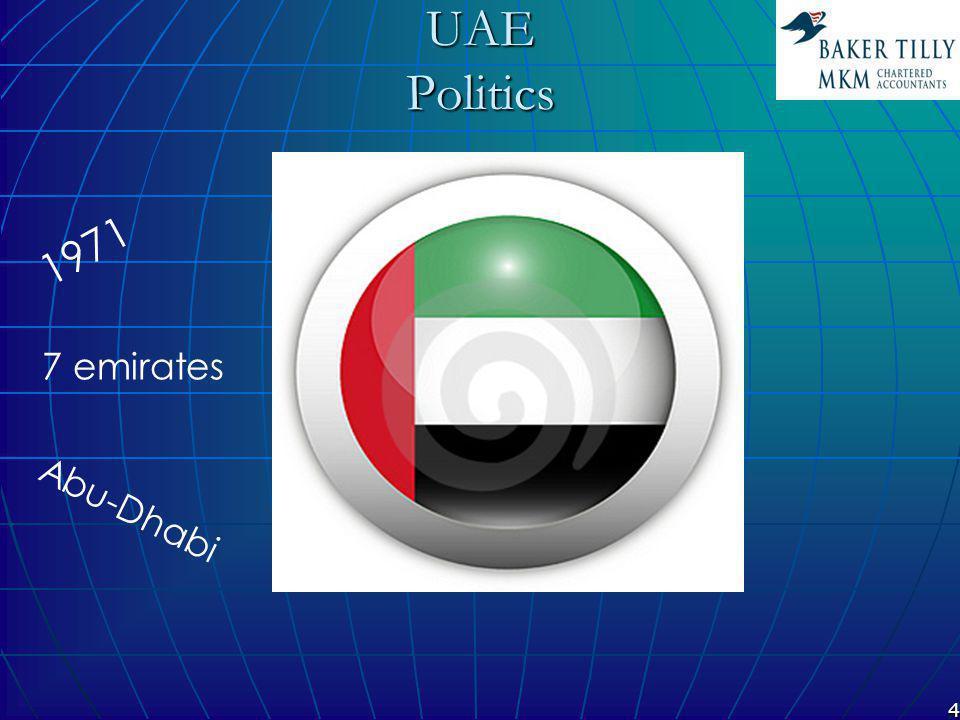 5View UAE UAE PoliticsPolitics GeographyGeography EconomicsEconomics Baker Tilly MKM Baker Tilly MKM HistoryHistory MembershipsMemberships MarketMarket LocationsLocations IndustriesIndustries PartnersPartners