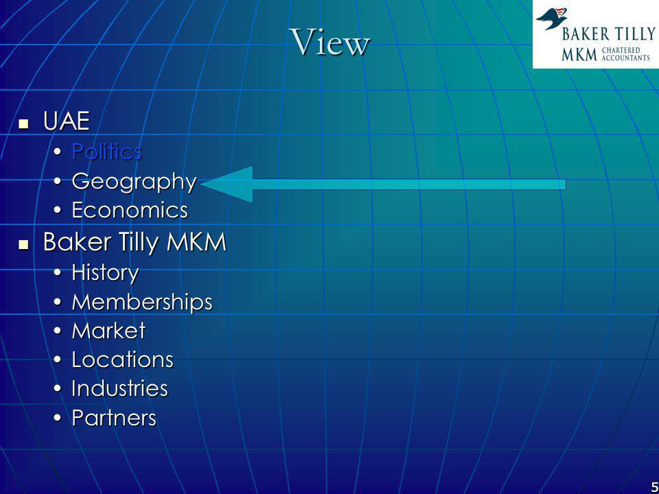 26 Baker Tilly MKM Partners Munim expertise 40 others … Munim