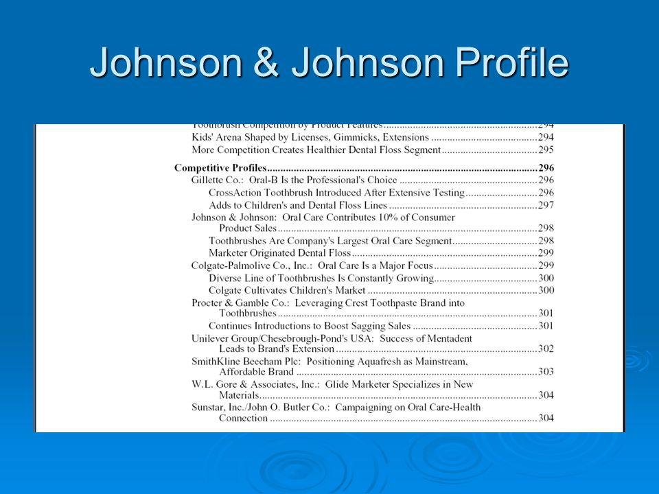 Johnson & Johnson Profile