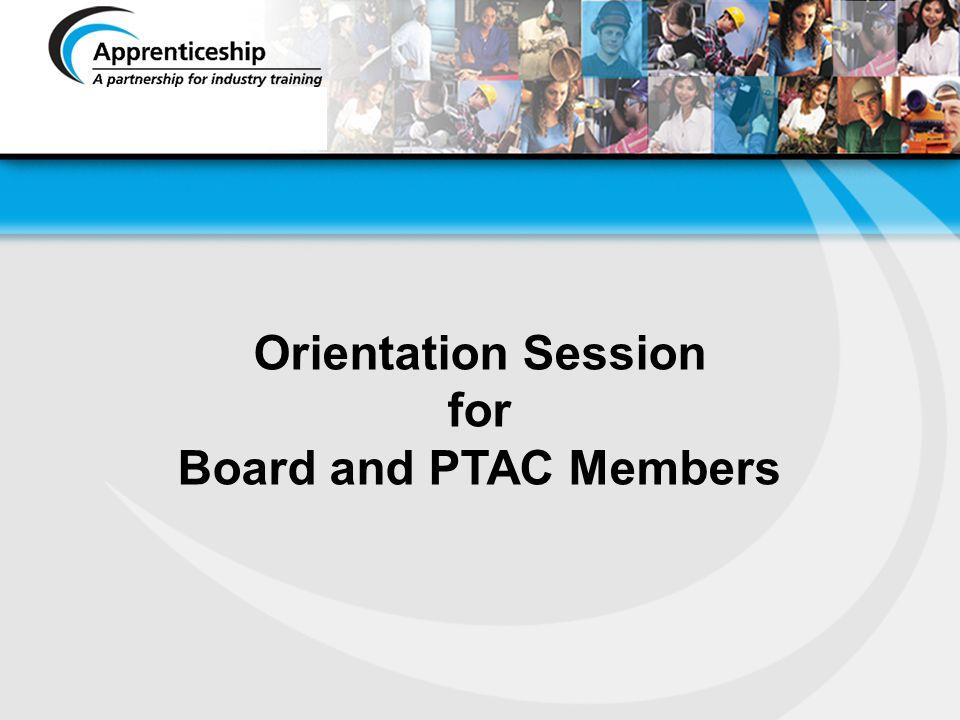 Presentation Agenda Legislative Structure Organizational Structure Board Overview Board Functions PTAC Overview PTAC Functions