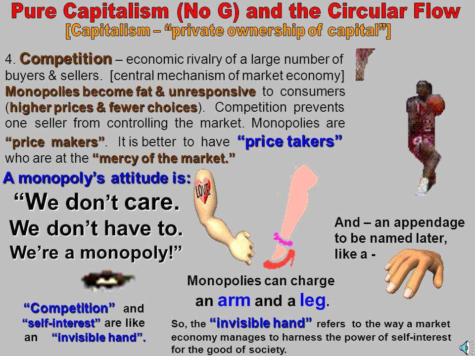3.Use of Money 1. Reliance on Technology and Capital Goods and Capital Goods 2.