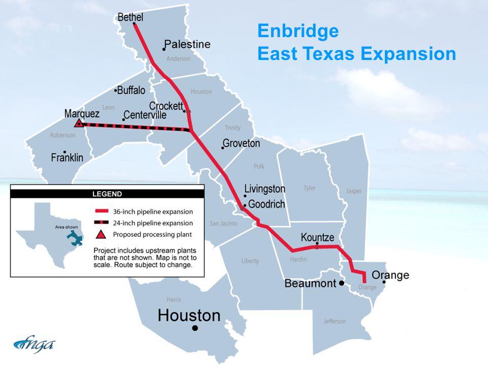Enbridge East Texas Expansion