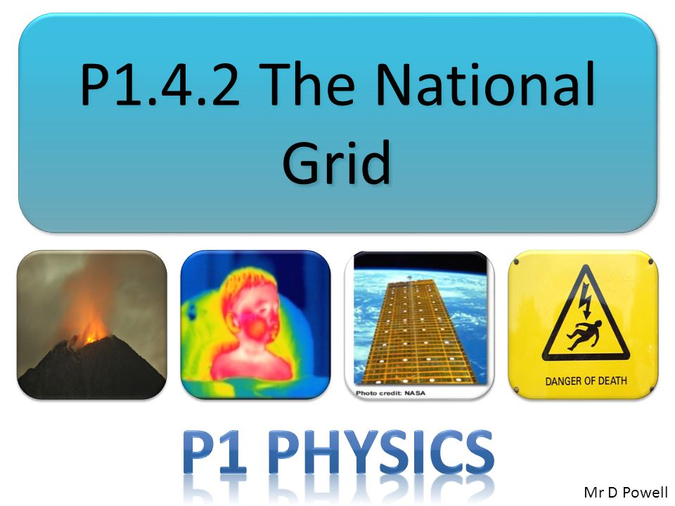 Mr Powell 2012 Index National Grid....