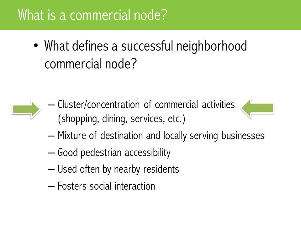 Kessler & College – Indianapolis, IN Examples of Nodes – Corner Shop