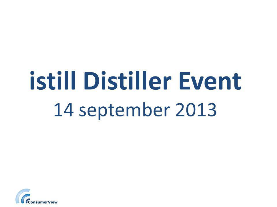 istill Distiller Event 14 september 2013