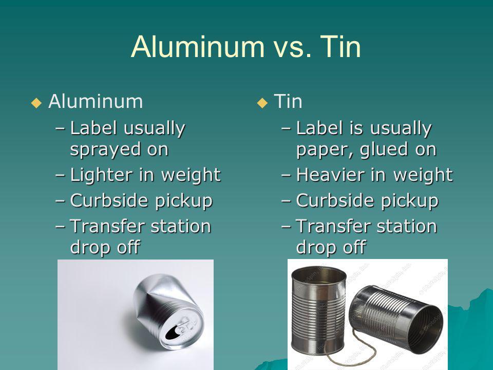 Aluminum vs.