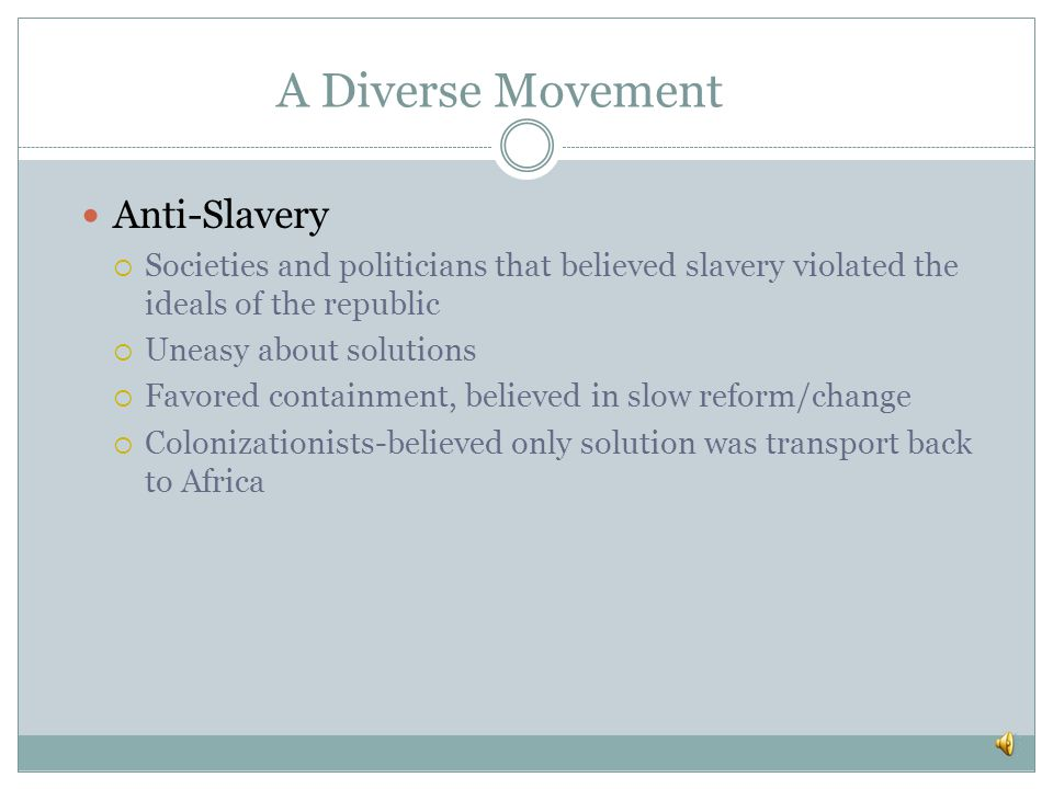 Anti-Slavery and Abolition