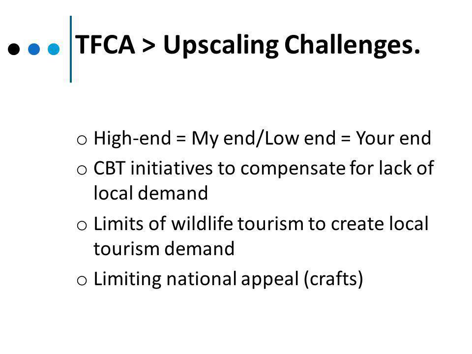 TFCA > Upscaling Challenges.