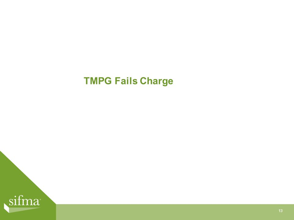 TMPG Fails Charge 13