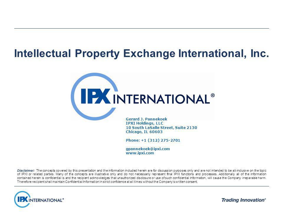 Intellectual Property Exchange International, Inc.