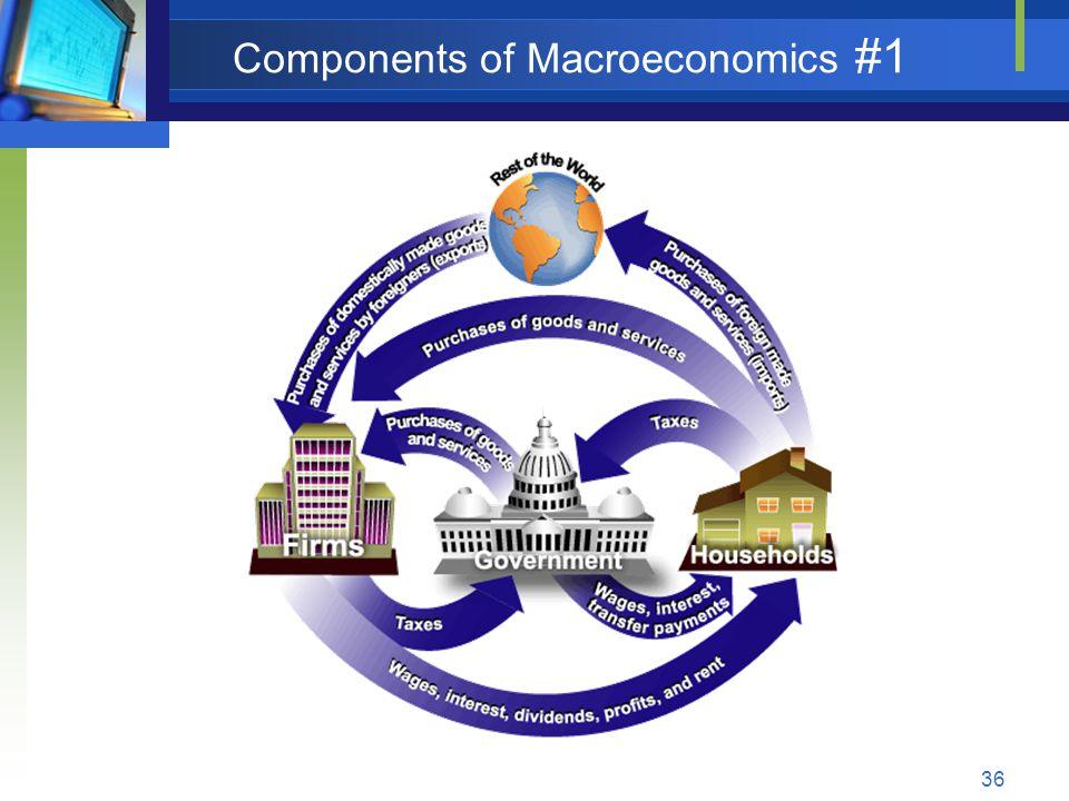 36 Components of Macroeconomics #1