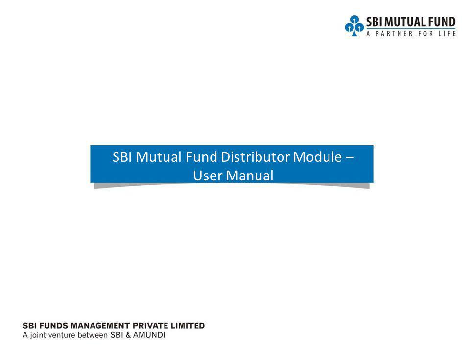 Fixed Income- Basics SBI Mutual Fund Distributor Module – User Manual