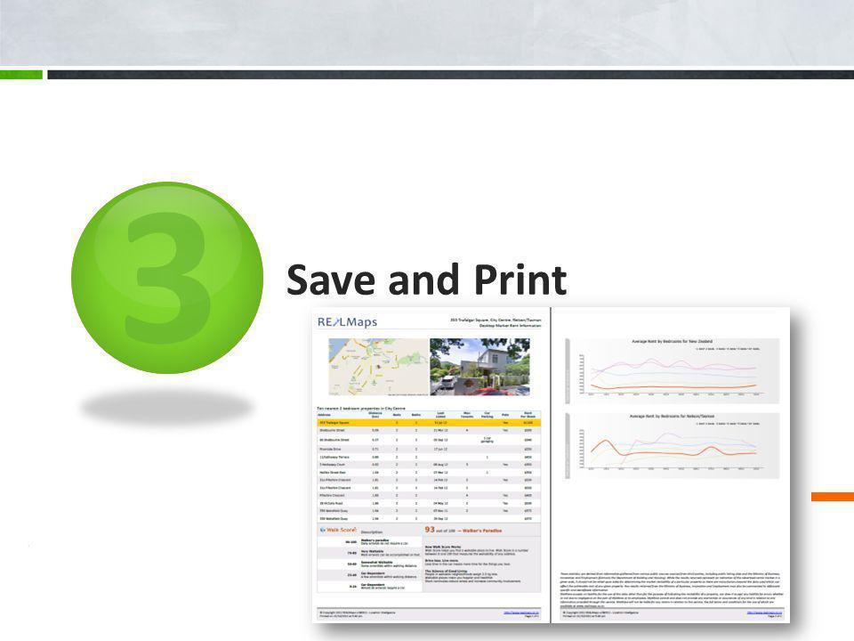 3 Save and Print