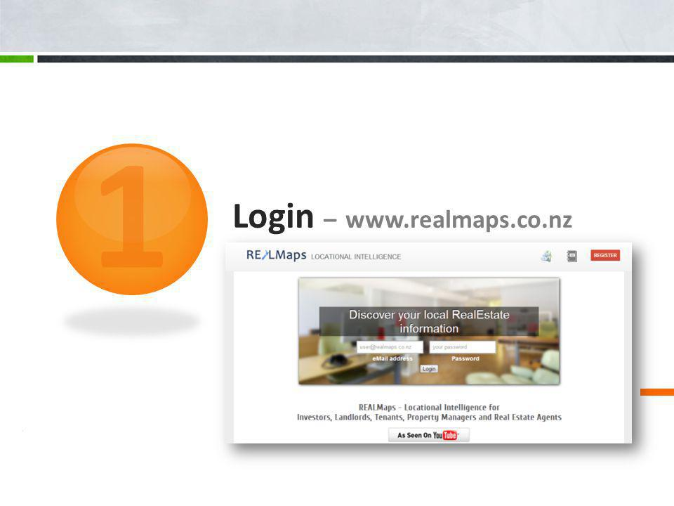 Login – www.realmaps.co.nz 1