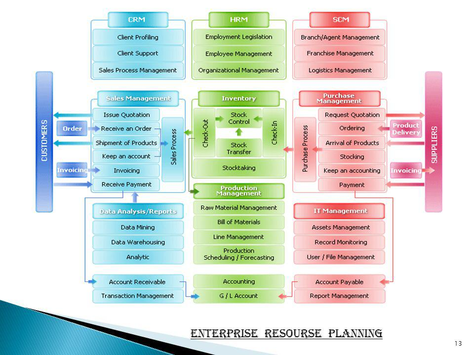 13 Enterprise Resourse Planning