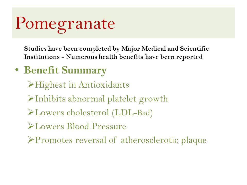 Pomegranate – Why India.