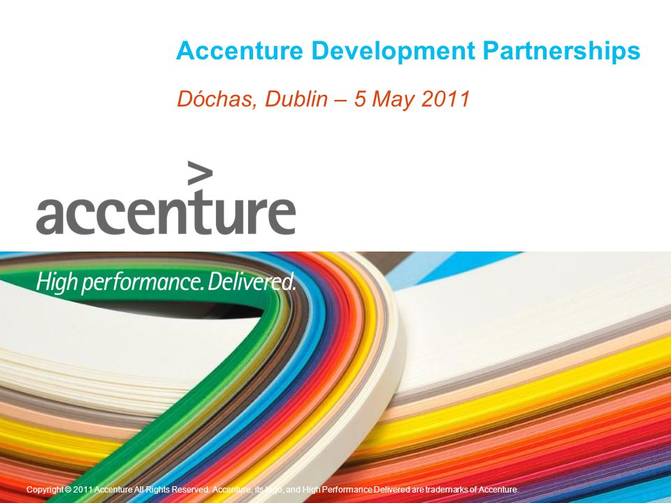 An Overview Who are we.ADP is a non-profit group within Accenture.