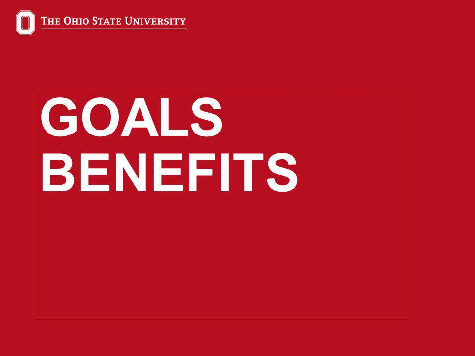 12 GOALS BENEFITS