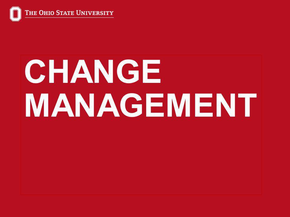 26 CHANGE MANAGEMENT